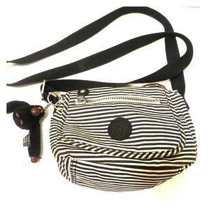 Kipling Sabian Striped Crossbody Bag